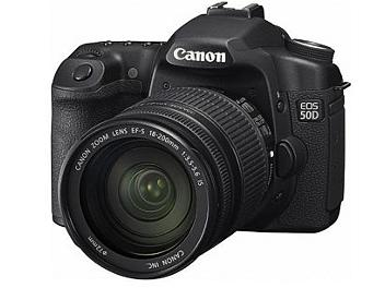 Canon EOS-50D DSLR Camera Kit with Canon EF-S 18-200mm IS Lens