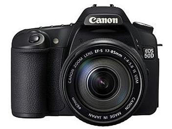Canon EOS-50D Digital SLR Camera Kit with Canon EF-S 17-85 IS USM Lens