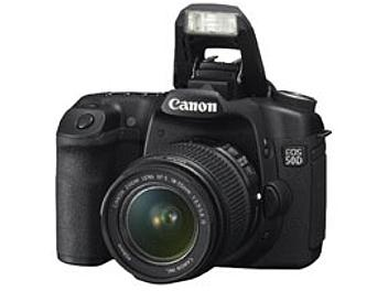 Canon EOS-50D DSLR Camera Kit with Canon EF-S 18-55mm IS Lens