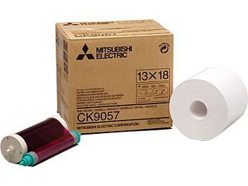Mitsubishi CK9057 Paper with Ink Ribbon