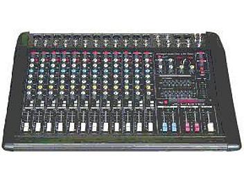 Naphon PM825 Powered Audio Mixer