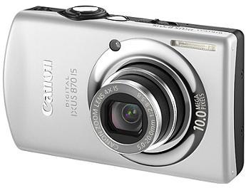 Canon IXUS 870 IS Digital Camera - Silver