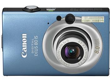 Canon IXUS 80 IS Digital Camera - Blue