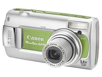 Canon PowerShot A470 Digital Camera - Green