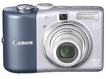 Canon PowerShot A1000 IS Digital Camera - Blue
