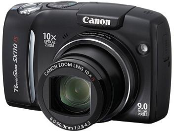 Canon PowerShot SX110 IS Digital Camera - Black