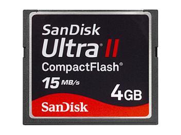 SanDisk 4GB Ultra II CompactFlash Card (pack 5 pcs)