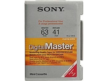 Sony PHDVM-63DM HDV Cassette (pack 100 pcs)