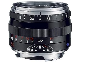 Zeiss C Sonnar T* 1.5/50 ZM Lens - Black