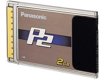 Panasonic AJ-P2C002SG P2 Card 2Gb