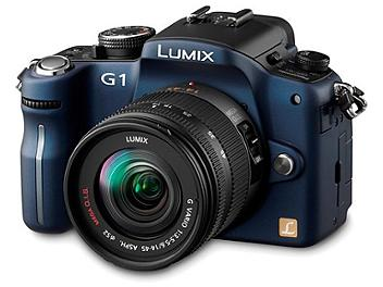 Panasonic Lumix DMC-G1 Camera PAL Kit with 14-45mm Lens - Blue