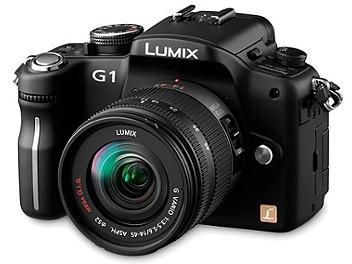 Panasonic Lumix DMC-G1 Camera PAL Kit with 14-45mm Lens - Black