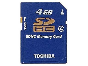 Toshiba 4GB Class-4 SDHC Card (pack 5 pcs)