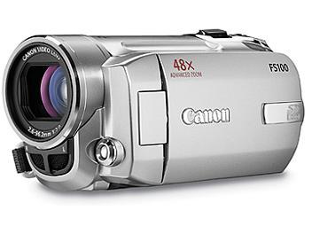 Canon FS-100 Flash Memory Camcorder NTSC - Silver