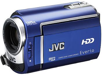 JVC Everio GZ-MG330B SD Camcorder NTSC