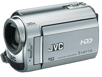 JVC Everio GZ-MG335H SD Camcorder NTSC - Silver