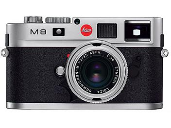 Leica M8.2 Digital Rangefinder Camera - Silver