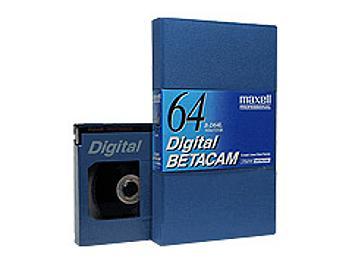 Maxell B-D64L Digital Betacam Cassette (pack 10 pcs)