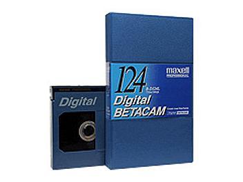 Maxell B-D124L Digital Betacam Cassette (pack 10 pcs)