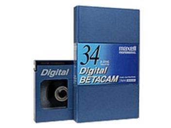 Maxell B-D34L Digital Betacam Cassette (pack 10 pcs)