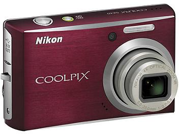 Nikon Coolpix S610 Digital Camera - Deep Red
