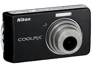 Nikon Coolpix S520 Digital Camera - Black