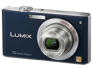 Panasonic Lumix DMC-FX35 Digital Camera - Blue