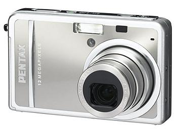 Pentax Optio S12 Digital Camera - Silver