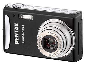 Pentax Optio V20 Digital Camera - Black