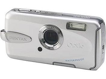 Pentax Optio W30 Digital Camera - Silver