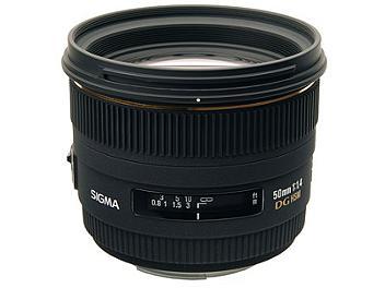 Sigma 50mm F1.4 EX DG HSM Lens - Four Thirds Mount