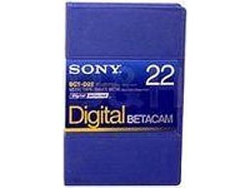 Sony BCT-D22 Digital Betacam Cassette