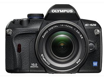 Olympus E-420 DSLR Camera Kit with Olympus 14-42mm Lens