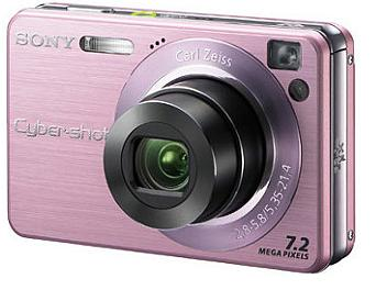 Sony Cyber-shot DSC-W120 Digital Camera - Pink