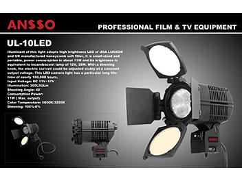 Ansso UL-10LED Camera Light
