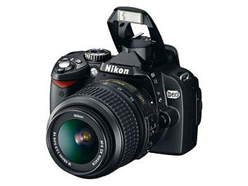 Nikon D60 Digital SLR Camera Kit II