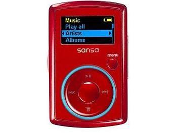 SanDisk Sansa Clip 2GB MP3 Player - Red