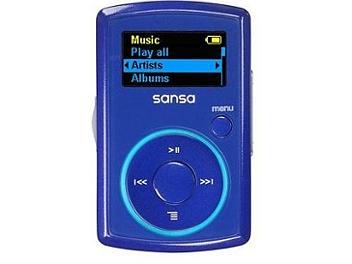 SanDisk Sansa Clip 2GB MP3 Player - Blue