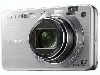 Sony Cyber-shot DSC-W150 Digital Camera - Silver