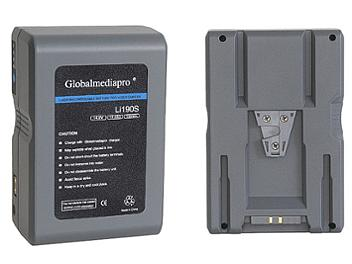 Globalmediapro Li190S-R Lithium ion Battery 190WH for Red Camera