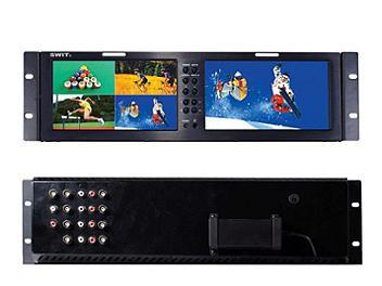 Swit S-1080Q 2 x 8-inch 4-input LCD Monitor