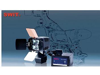 Swit S-2000 LED Camera Light + S-8U62 Lithium ion Battery Kit