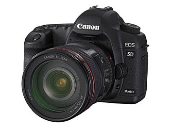 Canon EOS-5D Mark II Digital SLR Camera Kit with Canon EF 85mm F1.2L II Lens
