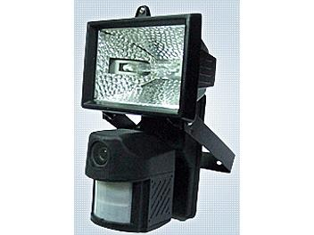 X-Core XPL6AZ1 Motion Sensor 150W Floodlight with built-in Color CCD Camera NTSC