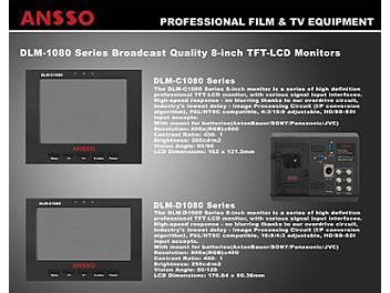 Ansso DLM-C1080BP 8-inch LCD Monitor
