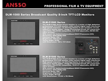 Ansso DLM-C1080BJ 8-inch LCD Monitor