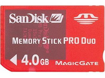SanDisk 4GB Memory Stick Pro Duo Gaming Edition Card (pack 25 pcs)