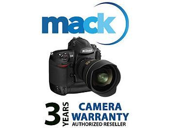Mack 1029 3 Year Digital Still Professional International Warranty (under USD8500)