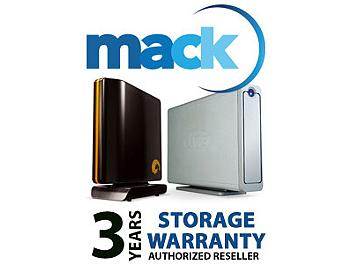 Mack 1038 3 Year External Storage/Hard Drive International Warranty (under USD500)