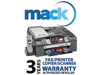 Mack 1031 3 Year Fax/Printer/Scanner International Warranty (under USD1000)